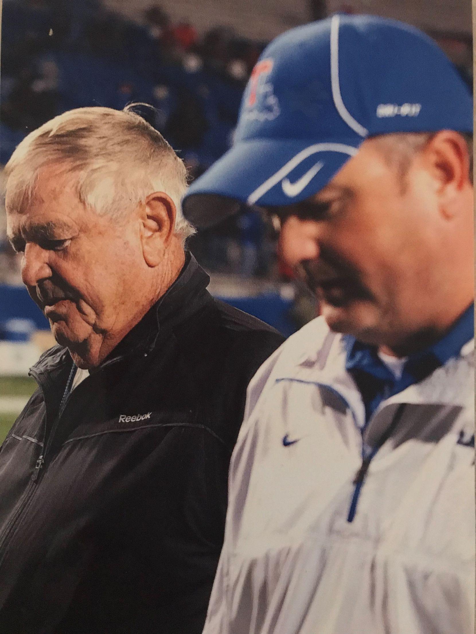Spike and Sonny Dykes at Louisiana Tech