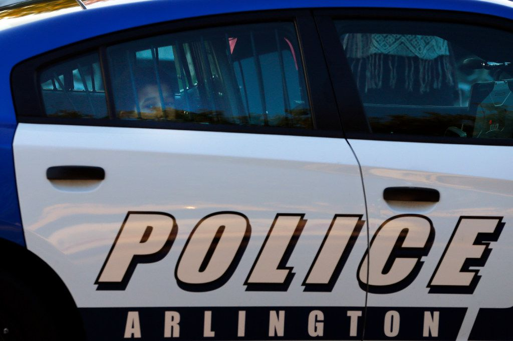 An Arlington Police Department vehicle.  (Tom Fox/The Dallas Morning News)