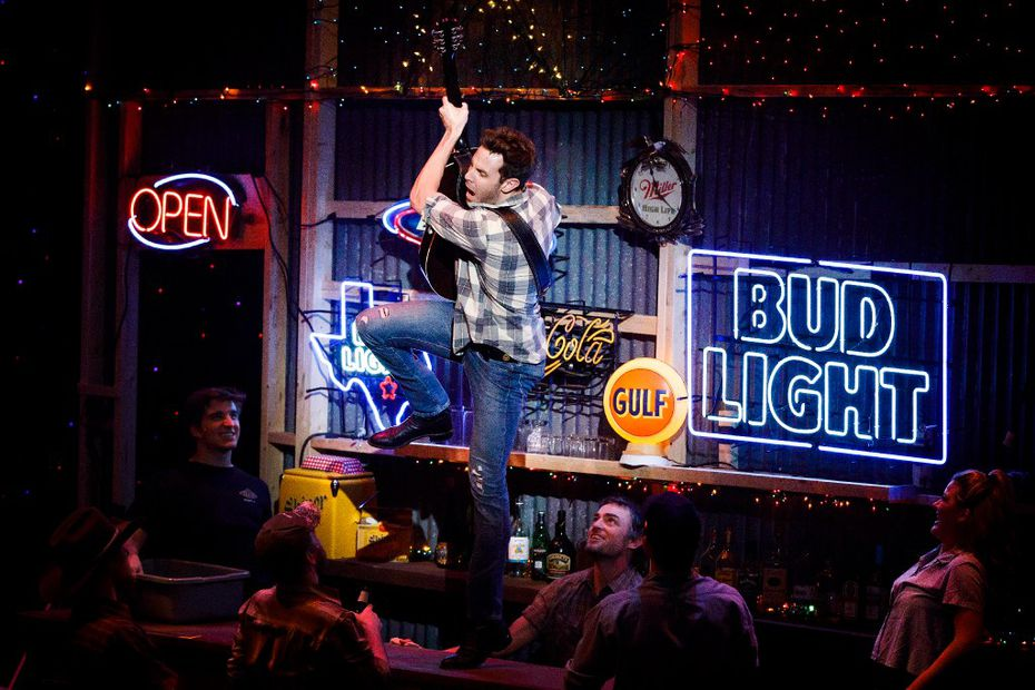 """Harley Jay is a Broadway veteran who also has his own band. The Texas-savvy sets in """"Pure Country"""" are by Randel Wright."""