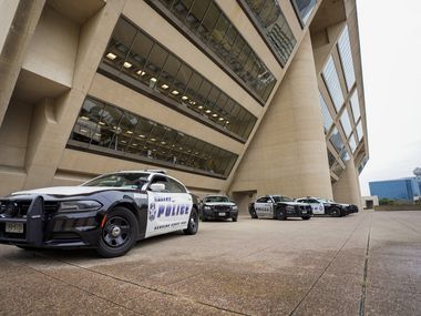 Dallas City Hall on Wednesday, Jan. 20, 2021. (Smiley N. Pool/The Dallas Morning News)