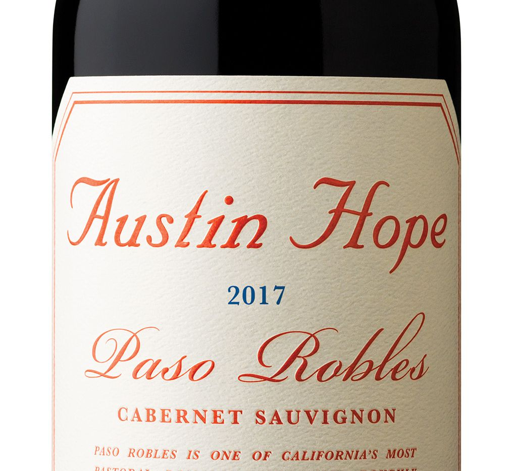 Austin Hope Cabernet Sauvignon 2017 is big, rich and delicious, with juicy, opulent fruit and silky, supple tannins.