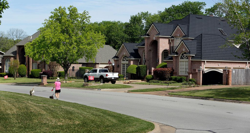 Pardo's house in the only one on the street that saw a steady decrease in appraised value in the period from 2014-2019. She says it's because she hired a property tax consultant to protest for her.