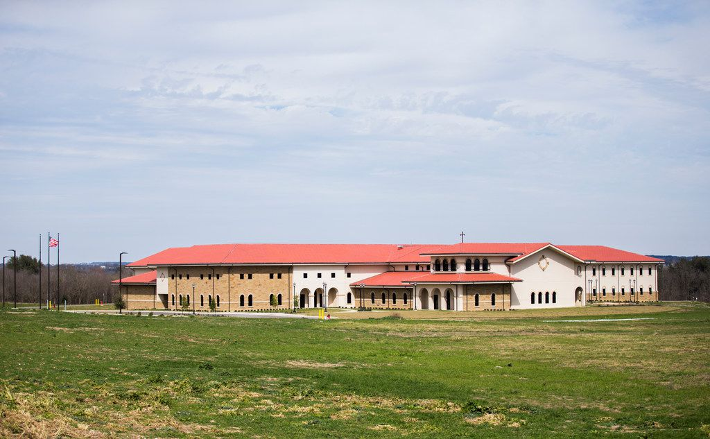 The exterior of a new Dominican Sisters of Mary convent in Georgetown, Texas.