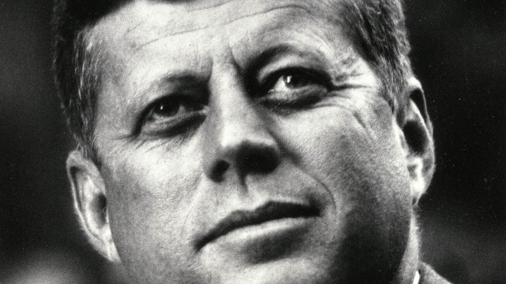 A 1963 photo of Pres. John F. Kennedy.