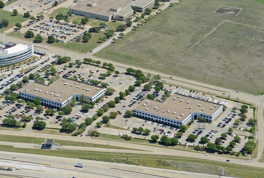 Pillar Commercial bought the two-building Richardson Office Center on Bush Turnpike.