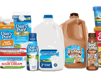 Dean Foods' dairy products range from national milk brands to ice cream.
