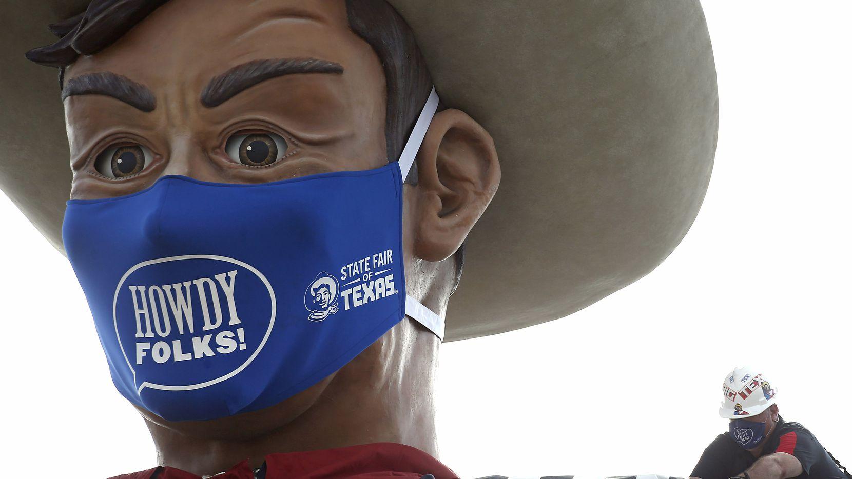Organizadores del a Feria Estatal de Texas piden que los visitantes lleven una mascarillas con ellos este 2021. El uso no es requerido pero recomendado para personas no vacunadas en exteriores.