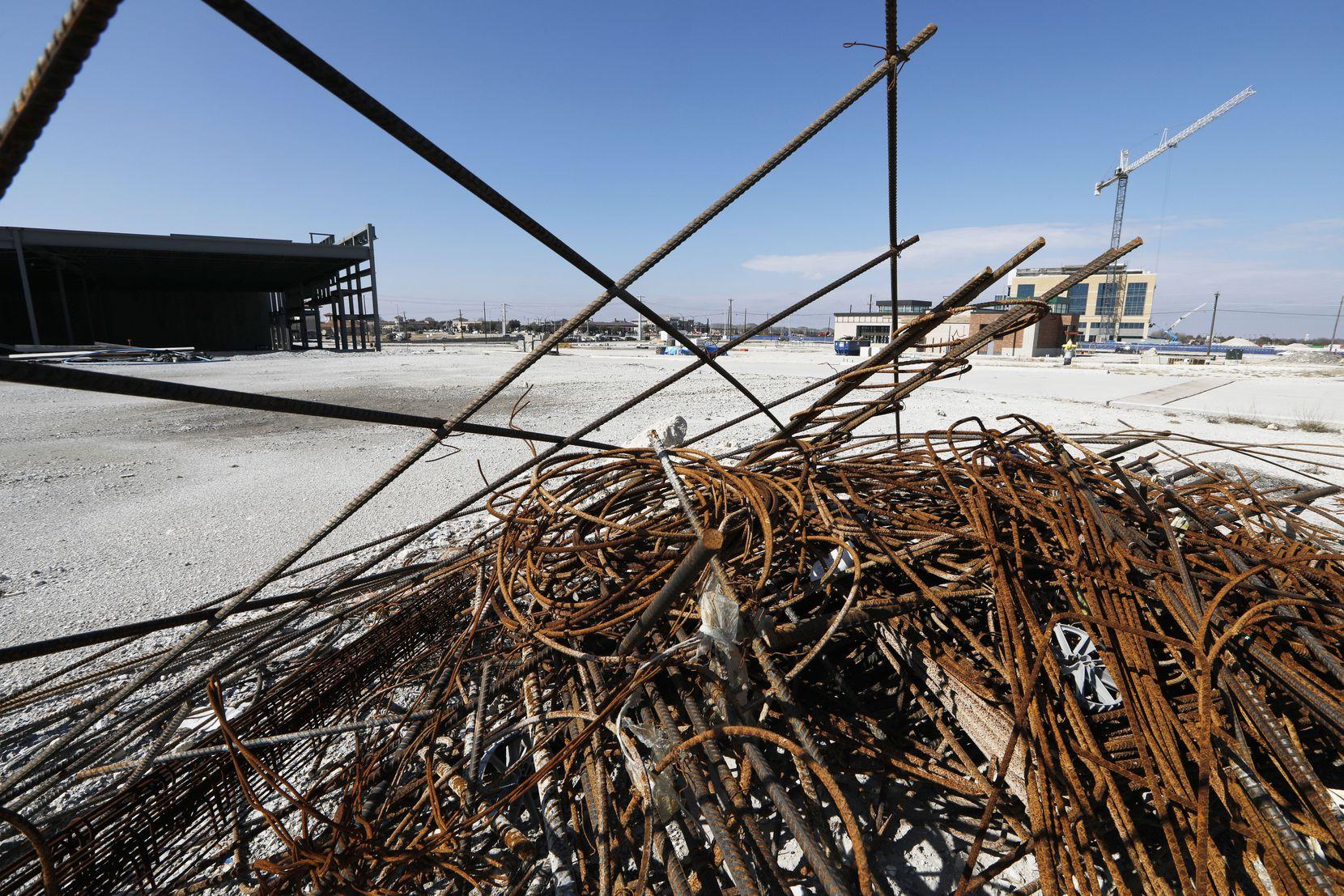 Work stopped on Frisco's $2 billion Wade Park development last year.