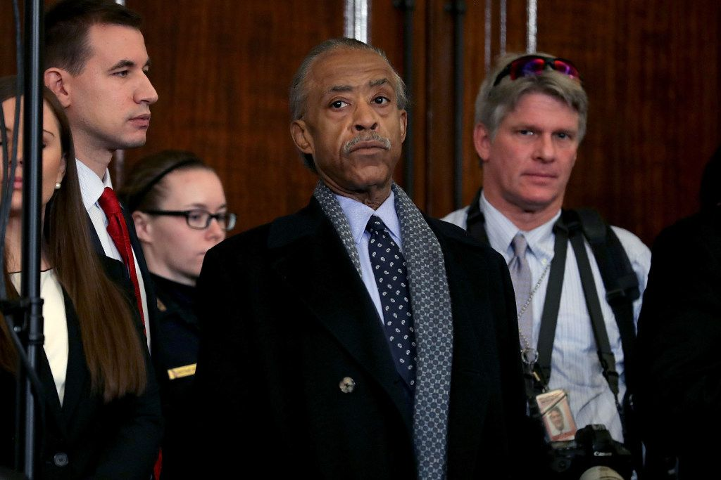 Civil rights leader and television personality the Rev. Al Sharpton also attended the confirmation hearing for Sessions.
