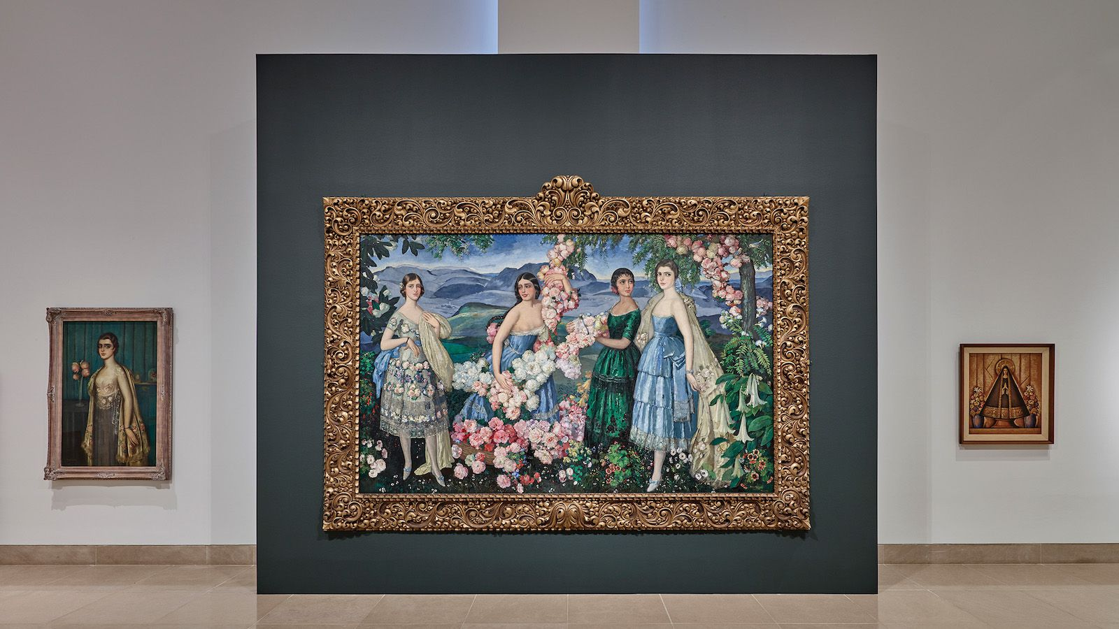 """Alfredo Ramos Martínez painted """"Flores Mexicanas,"""" a masterpiece that went unseen for nearly a century."""