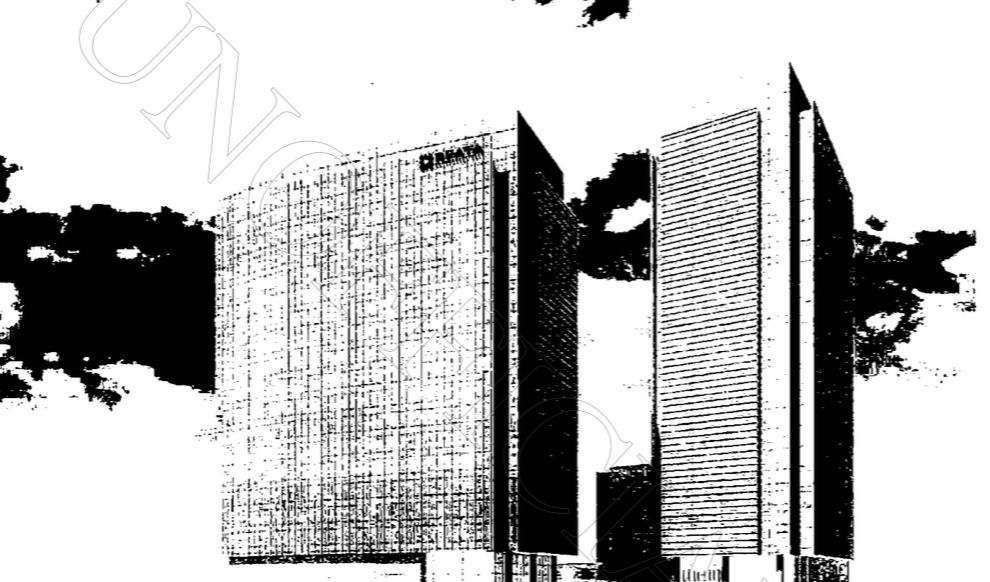 Rough drawings of the new buildings were included in filings in Collin County.