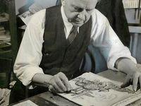 John Knott at work in July 1939.