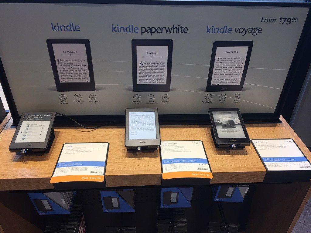 The first Amazon Books store in Texas opened in Austin on Tuesday, March 6, 2018 in Domain Northside.