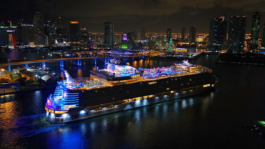 Royal Caribbean's Symphony of the Seas has held the title of world's largest cruise ship since it debuted in 2018, but a bigger vessel is slated to arrive in 2021.