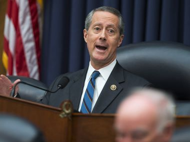 "Rep. Mac Thornberry, R-Clarendon, said Trump's plan ""undermines the principle of civilian control of the military."" (Evan Vucci/The Associated Press)"
