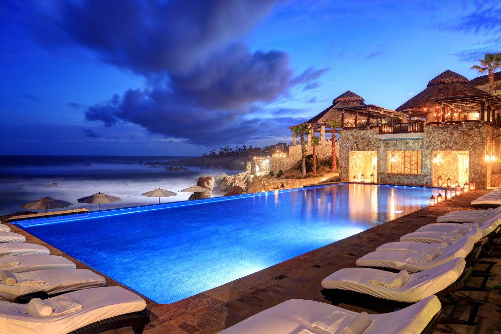 Esperanza boasts an infinity pool and waterfront views from every room.