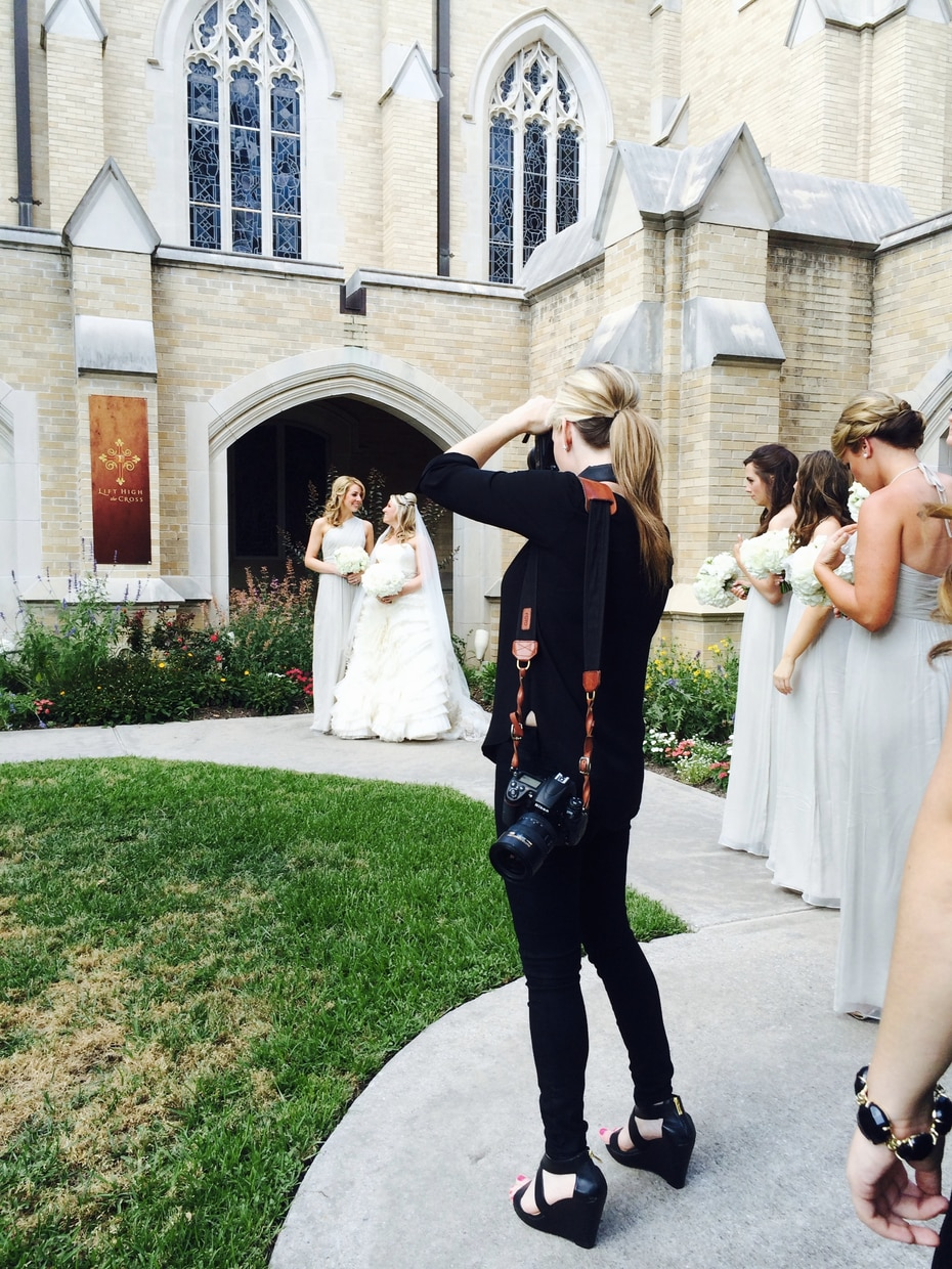 Andrea Polito, a Dallas wedding photographer, says her business was destroyed almost overnight after a couple disparaged her business online and in television interviews.