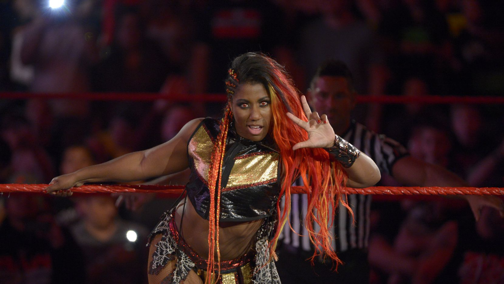 WWE's Ember Moon (Photo courtesy: WWE)