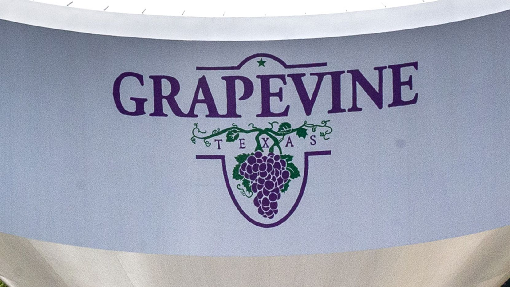 A Grapevine water tower in Grapevine, Texas, on Thursday, June 18, 2020.