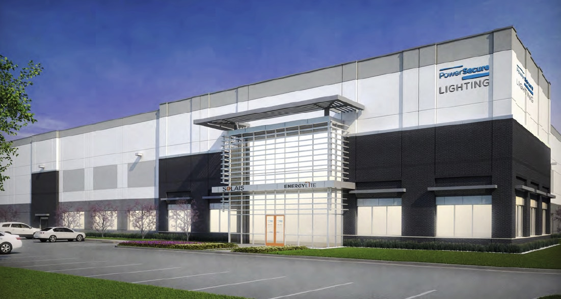 The new Frisco building for PowerSecure Lighting will be ready later this year.
