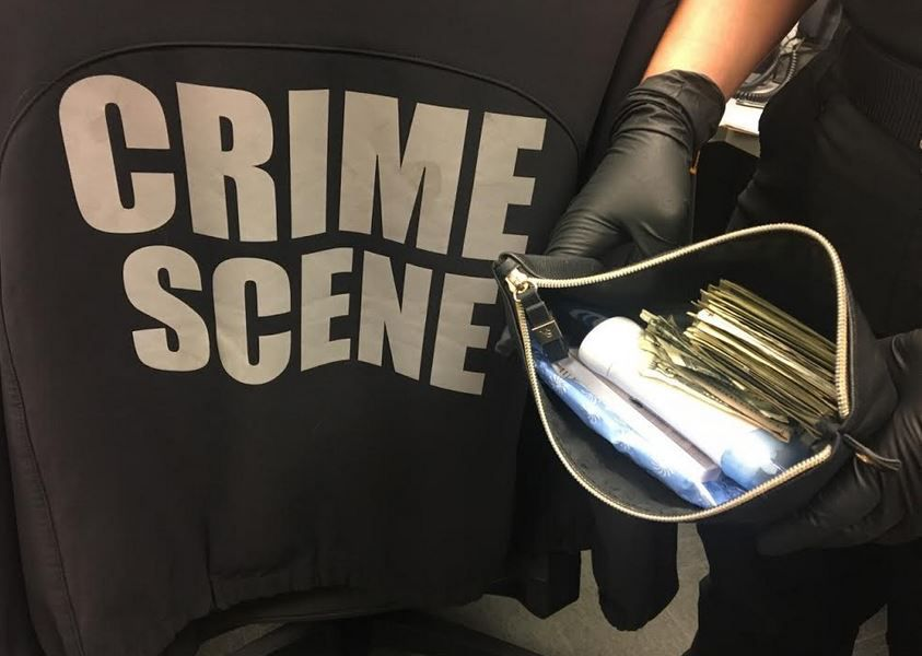 An image released by Grapevine police in connection with the arrest.