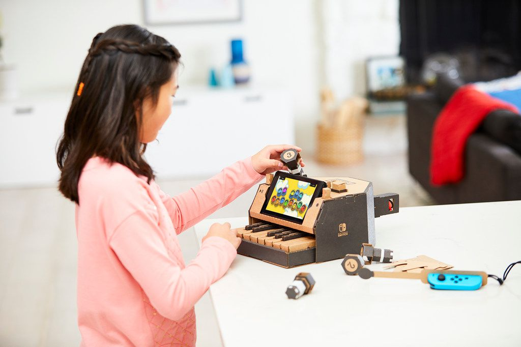 The Toy-Con Piano is included as part of the Nintendo Labo Variety Kit. Nintendo Switch system required (sold separately).