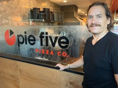 Brandon Solano is the new CEO of Rave Restaurant Group, which operates the Pie Five and Pizza Inn brands.