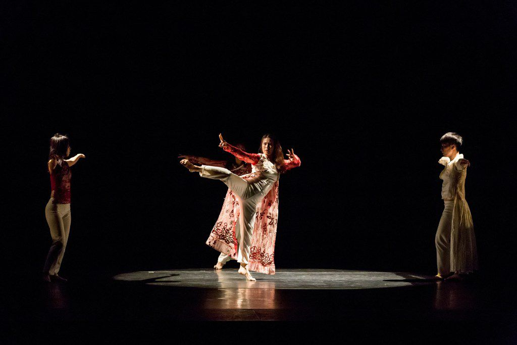 Bridget Moore brought four dancers from South Korea to premiere  Bound for Dallas Black Dance Theatre in May 2016.