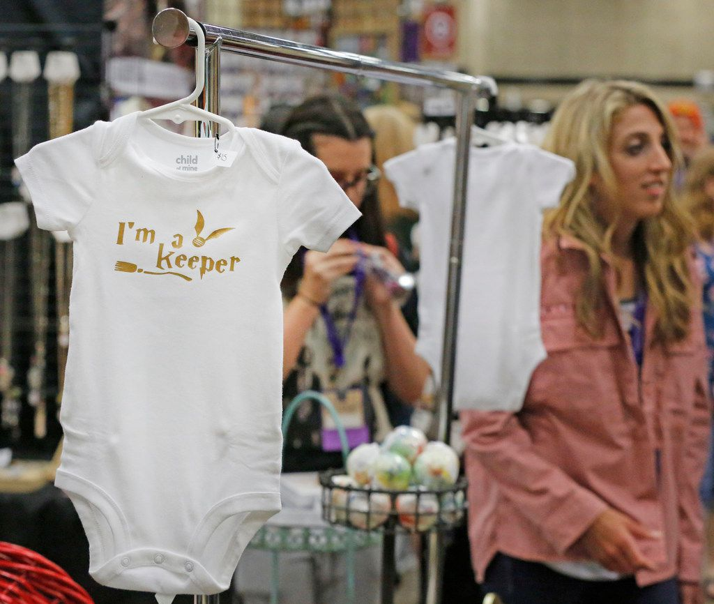Apparel was available for even the smallest of Harry Potter fans at LeakyCon.