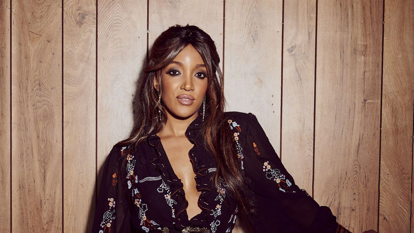 North Texas native and country music star Mickey Guyton.