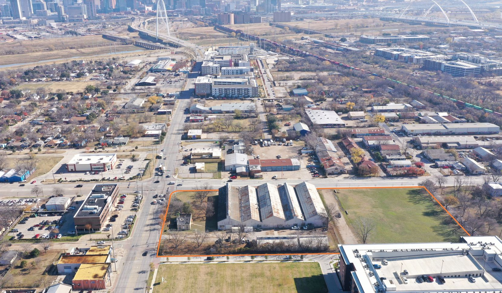 The Atlas Metal Works site includes about 6 acres at Singleton and Sylvan.