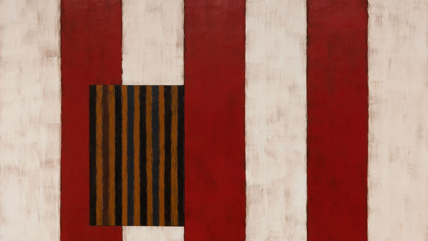 """The 1988 painting """"Pale Fire"""" is among the works by artist Sean Scully on display at the Modern Art Museum of Fort Worth through Oct. 10."""