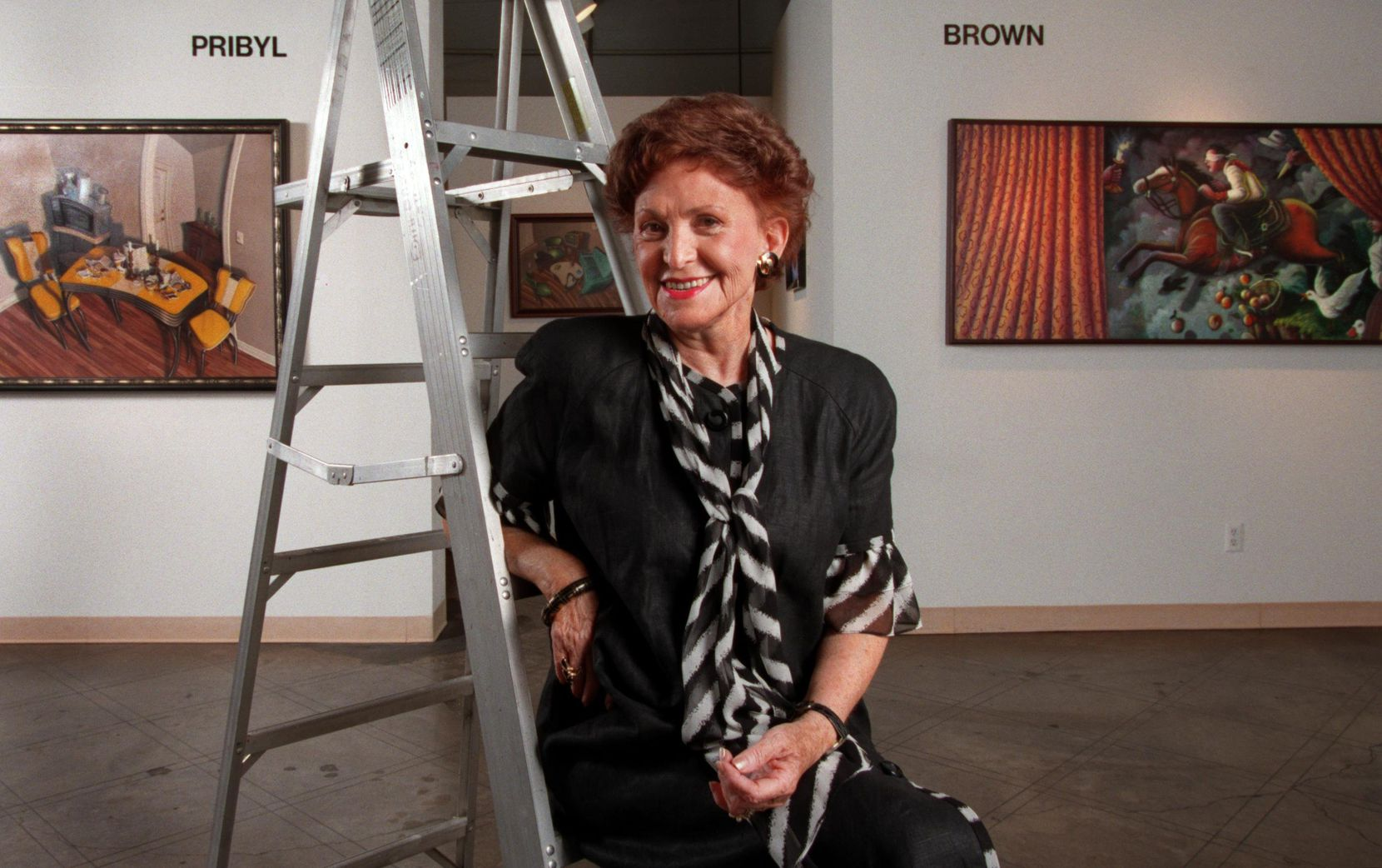 Edith Baker was a longtime Dallas gallery owner and a recipient of the Legend Award.