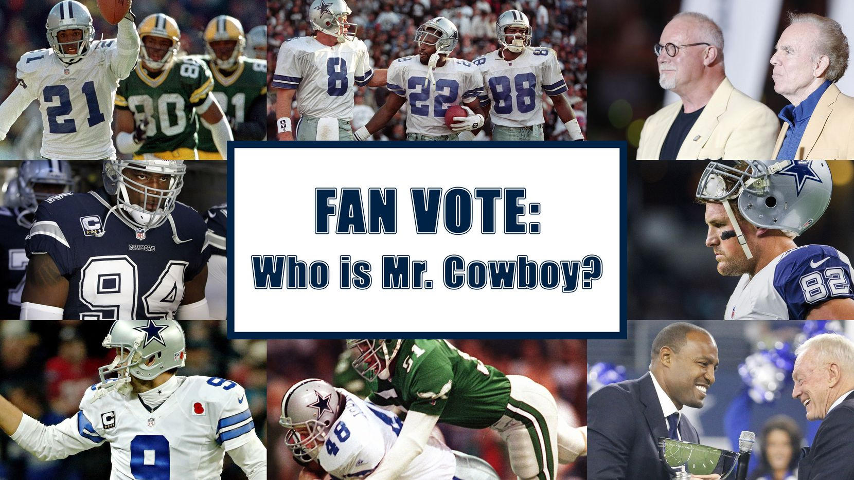 Numerous greats have donned the Cowboys' star, but which one stands above the rest?