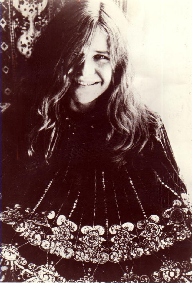 Undated file photo of singer Janis Joplin