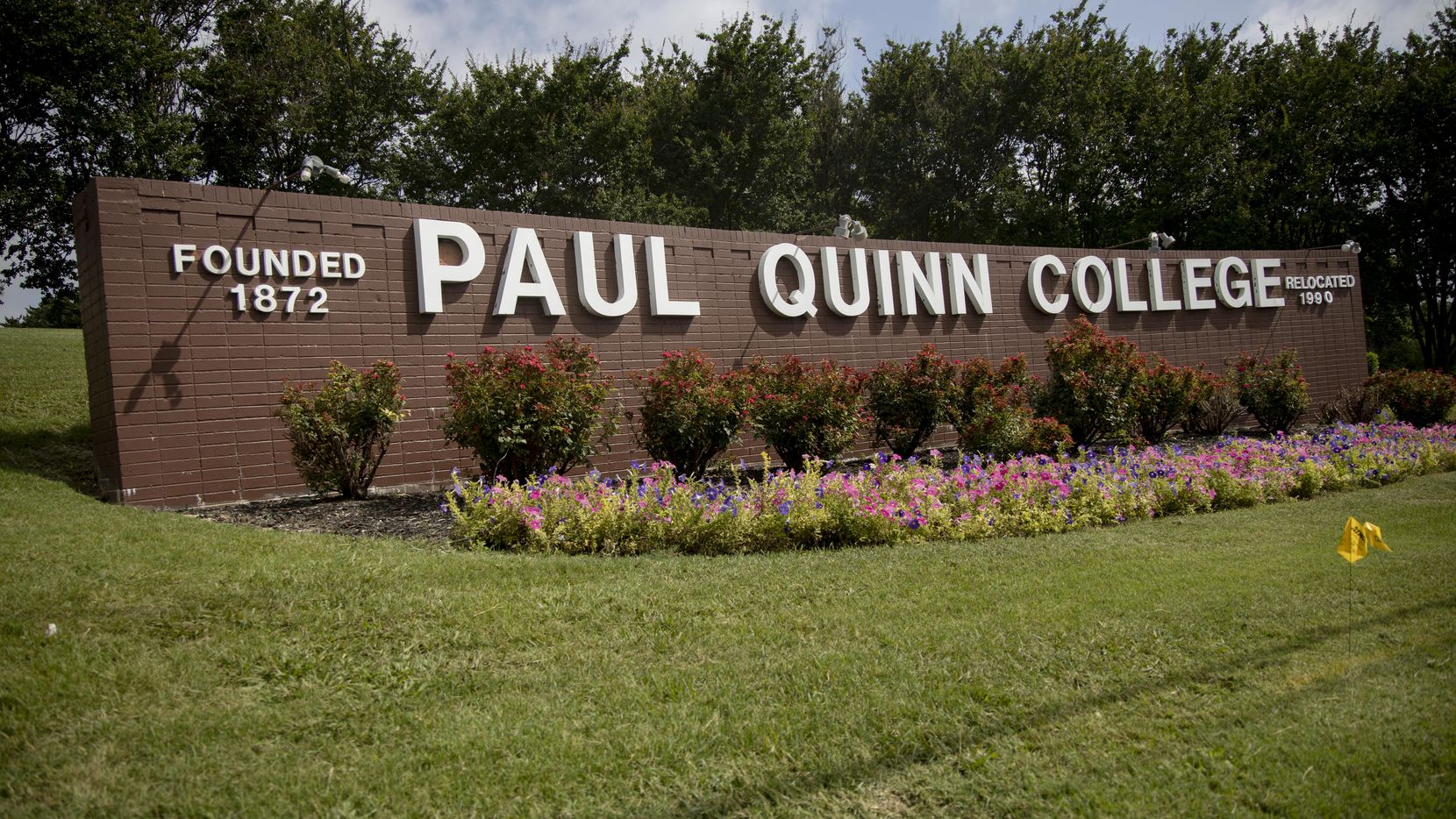 Paul Quinn College in Dallas on Thursday, June 27, 2019.