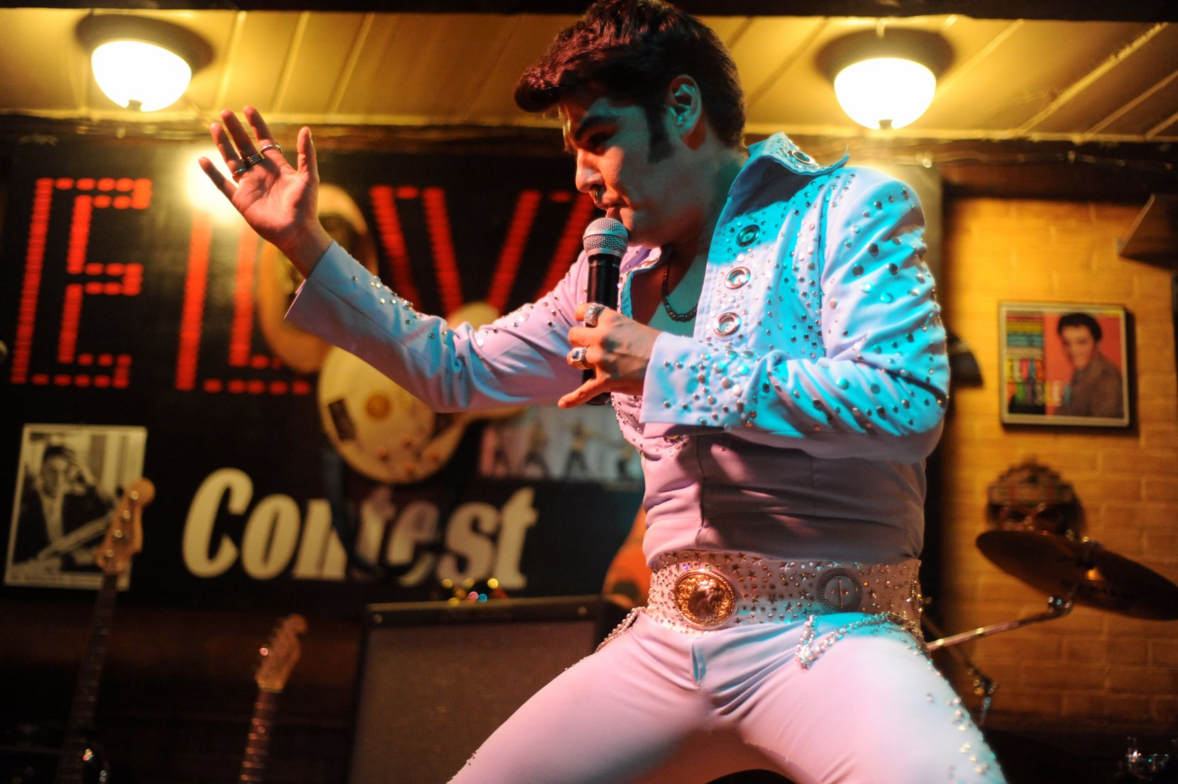 Oak Cliff's El Ranchito pays tribute to Elvis Presley in January and August to celebrate his birth and untimely passing.