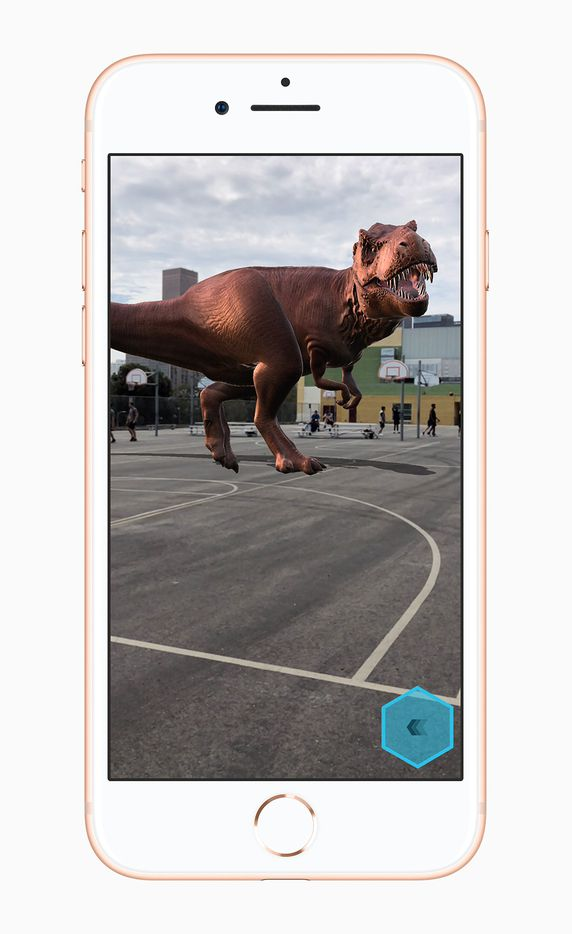 Augmented reality is a feature of the new version of iOS
