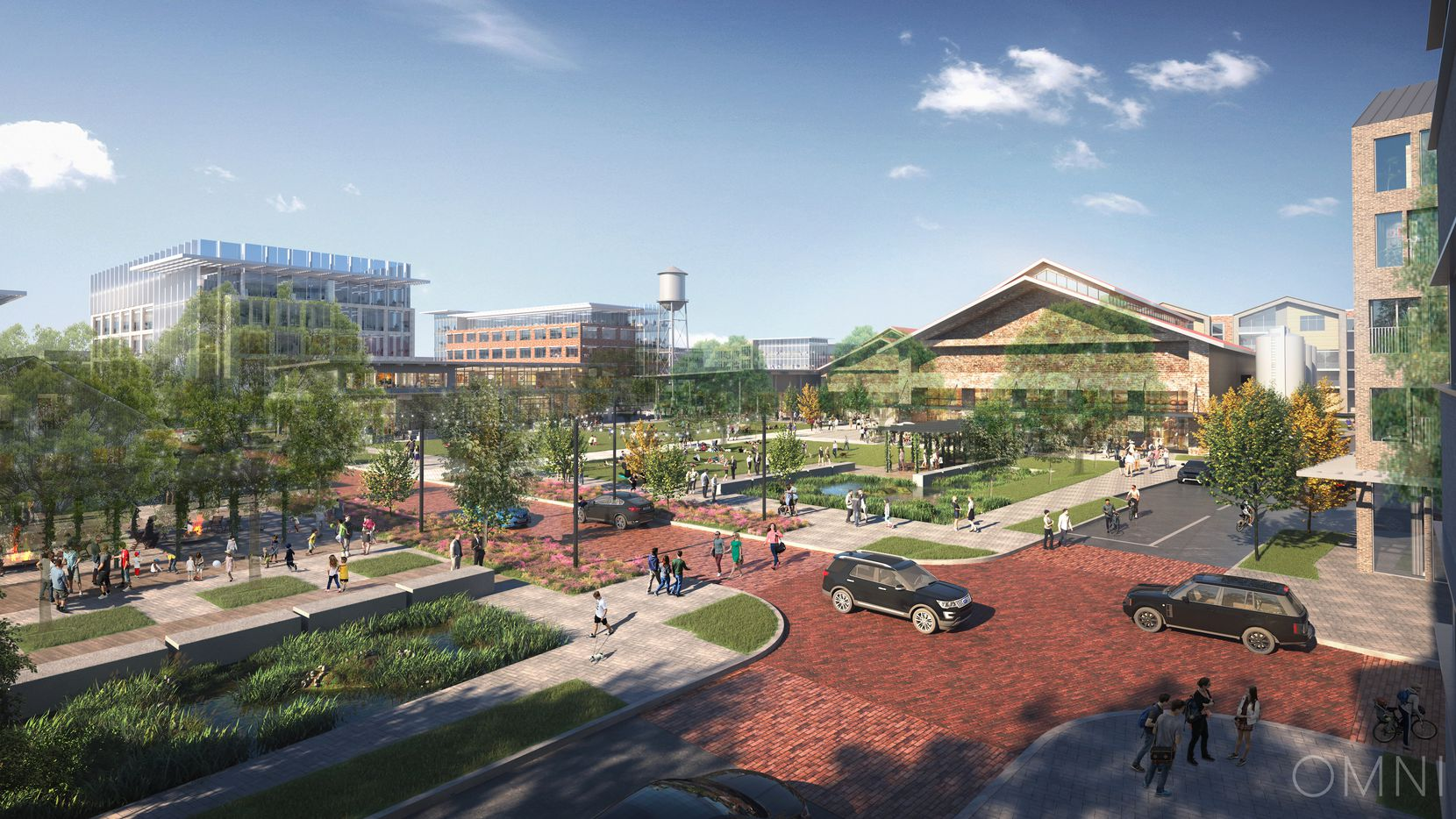 The 135-acre Farm development in Allen is planned for 1.6 million square feet of offices.