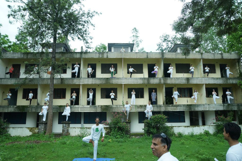 "The ""Puri"" accommodation block in Rishikesh has seen better days. Officials are considering plans to redevelop the site."