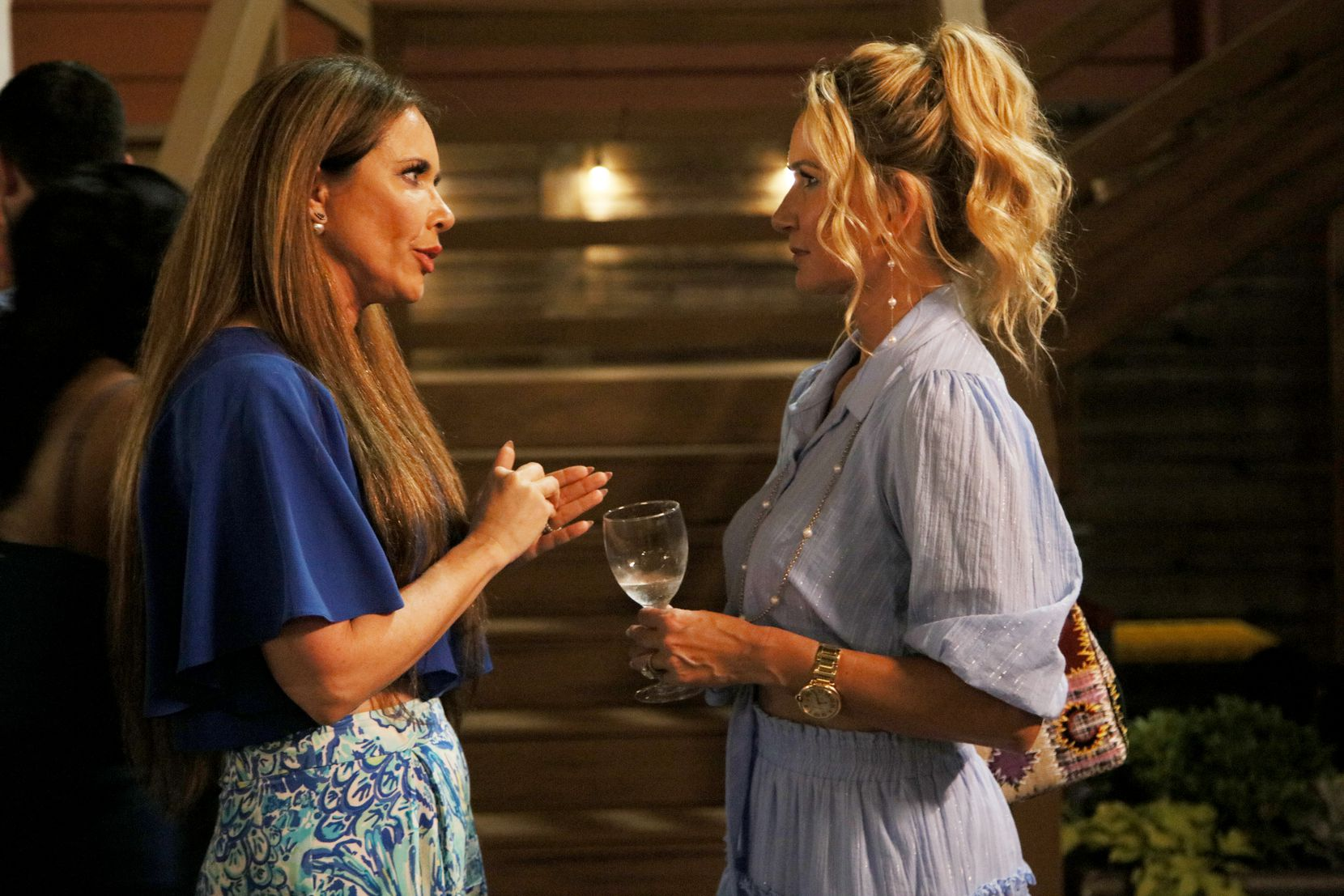 LeeAnne Locken, left, and Kary Brittingham had conflict from the very beginning of Season 4 of 'Real Housewives of Dallas.'