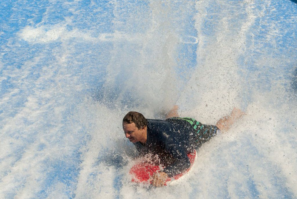 The Waveloch Flowrider, which was part of the Summer Adventures at the State Fair -- a $30-mil one-and-done.