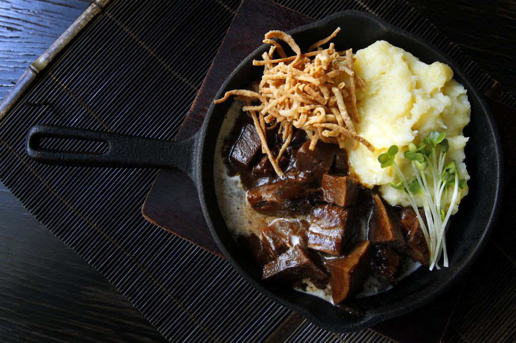 24-hour braised beef tongue at Tei-An