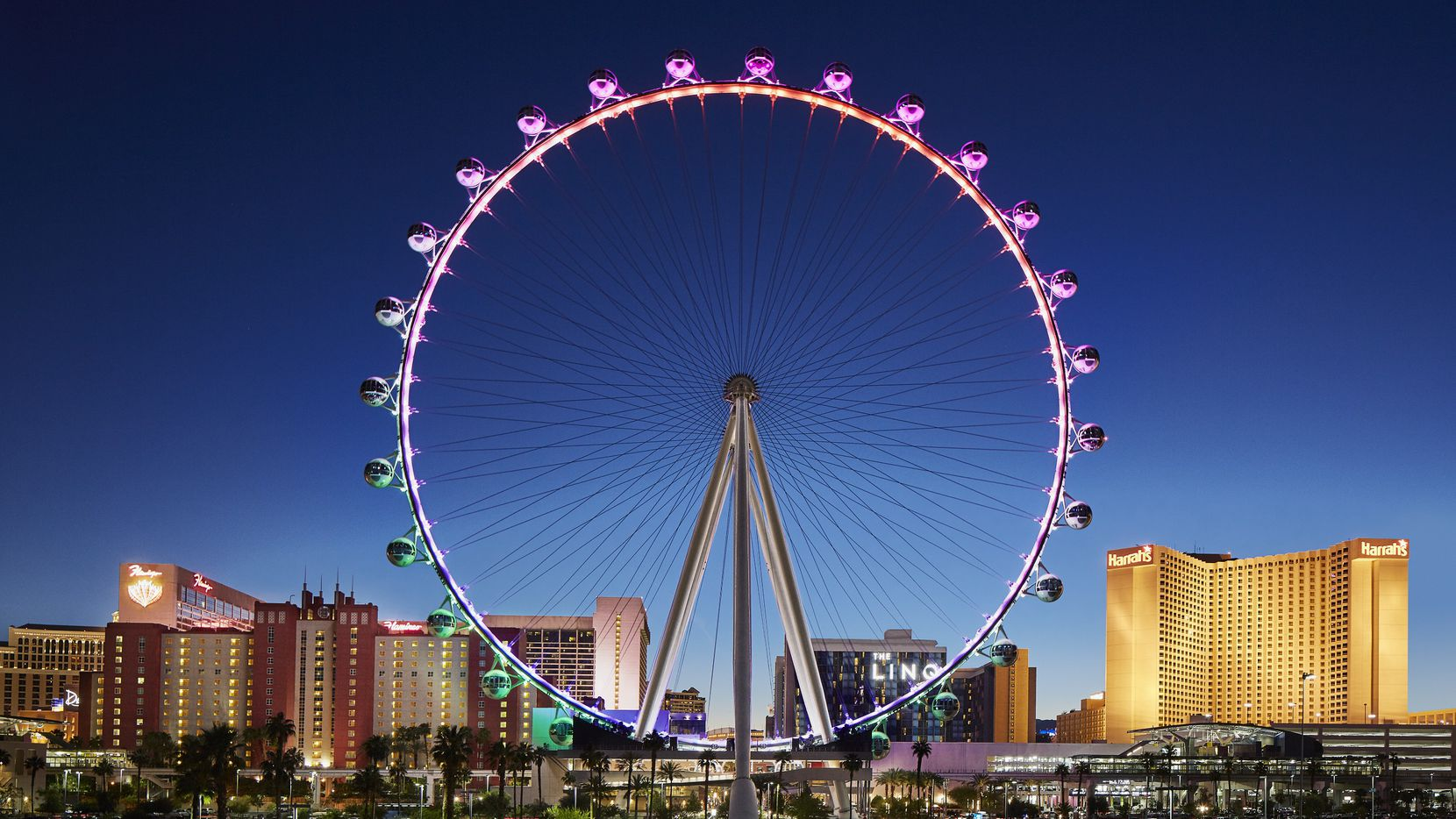 The business side of the NFL Draft will take place near the High Roller and the new Caesars Forum, adjacent to the observation wheel.