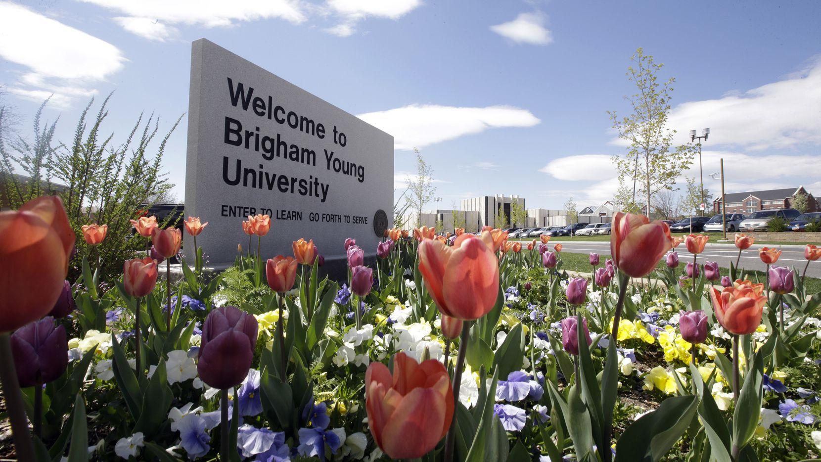 Brigham Young University in Provo, Utah. (AP Photo/Rick Bowmer, File)