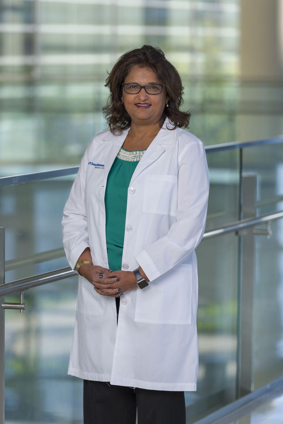 Dr. Mamta Jain, a professor of internal medicine at UT Southwestern Medical Center in Dallas