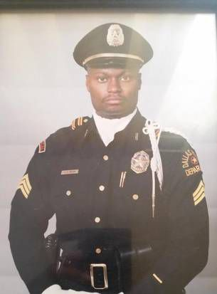 """In 2014, Brown posted a picture of himself on Twitter for Throwback Thursday. """"1993 as a DPD SWAT SGT. 29-inch waist maybe 170lbs ... could bench 275 ... old school now."""""""