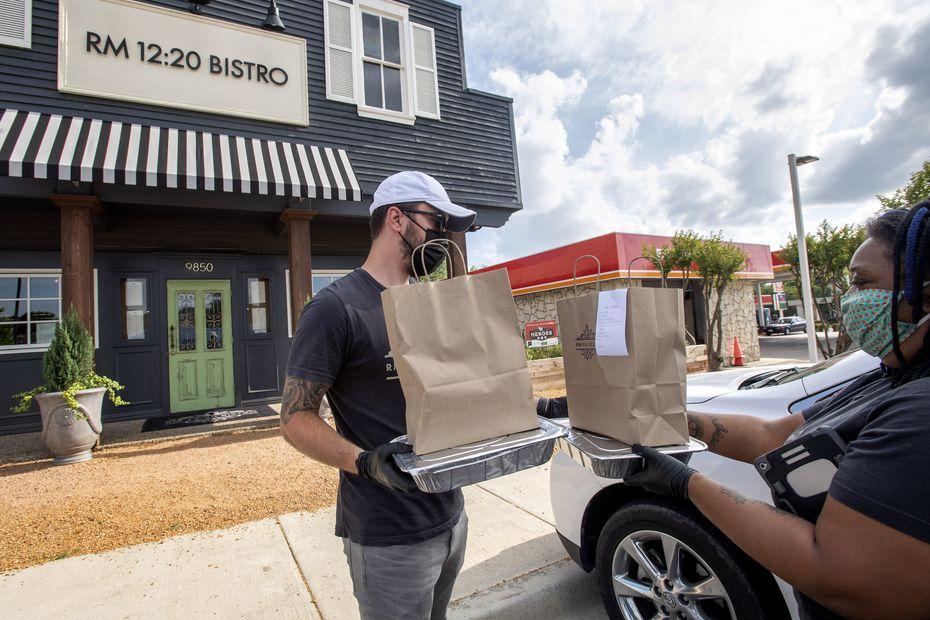 Whereas servers and chefs were once tasked with serving guests inside a restaurant, today's servers and chefs are shuttling food to customers in a parking lot. Some restaurant workers are even moonlighting as delivery drivers.