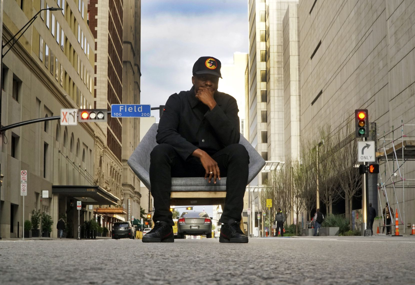 "Dallas hip-hop artist David Morgan says he feels bad about sharing his recent good career news with the world in the midst of the pandemic. ""It's supposed to be a good week, but this virus stuff has made it kind of hard to celebrate,"" Morgan says."