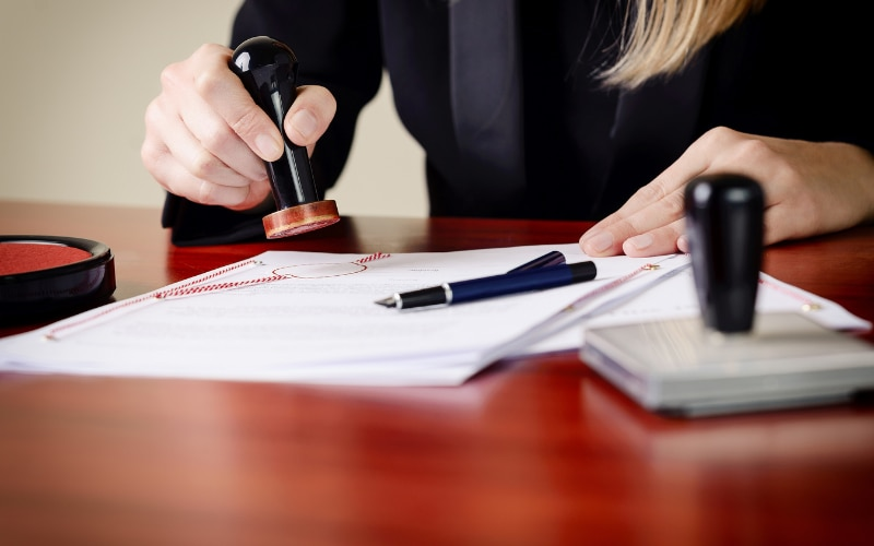 Ownership, or title, of land can only be passed via a written document.